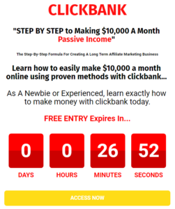 landing page that converts